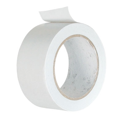Afdichting tape luchtafvoer wit 50 mm x 33 meter  P-1