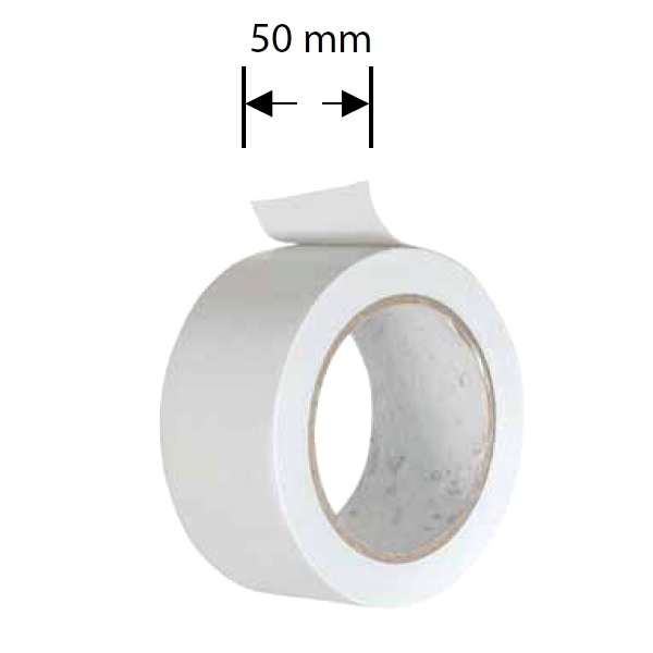 Afdichting tape luchtafvoer alu 50 mm x 5 meter