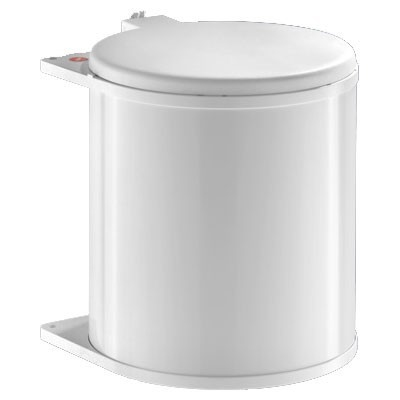 Afvalsysteem Hailo Big Box 15 Ltr Wit